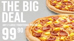 Find Take Aways || Domino's Pizza - The Big Deal Special