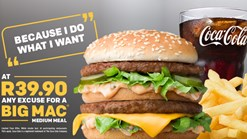 Find Take Aways || McDonalds #BigMacExcuse Promotion