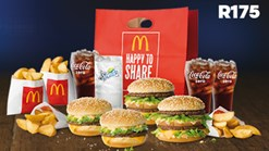 Find Take Aways || McDonald's - Grand Big Mac Share Bag Special