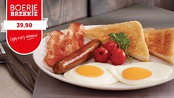 Find Take Aways || Wimpy - Boerie Brekkie