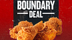 Find Take Aways || KFC Boundary Deal