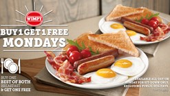 Find Take Aways || Wimpy's Best of Both Promotion