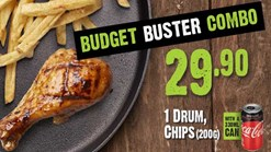 Find Take Aways || Zebro's - Budget Buster Combo