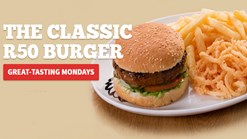 Spur - Great-tasting Mondays - The Classic R55 Burger Special