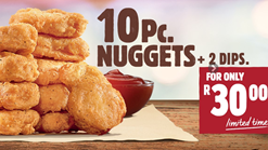 Find Take Aways || Burger King Nugget Deal