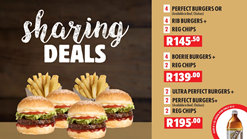 Find Takeaways || Burger Perfect - Sharing Deal