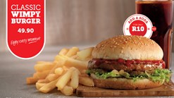 Find Take Aways || Wimpy - Classic Wimpy BurgerSpecial