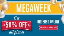 Find Take Aways || Dominos MEGAWEEK Special!