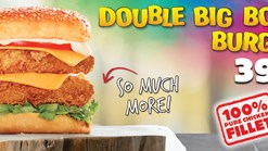 Find Take Aways || Hungry Lion Double Big Bos Burger Deal