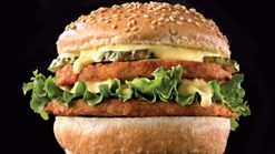 Chicken Licken - Double Chicken Boerie Burger Special