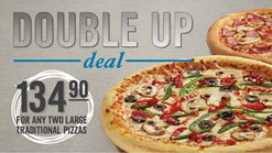 Find Take Aways || Domino's Pizza - Double Up Deal