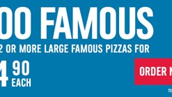 Find Takeaways || Dominos Too Famous Promotion