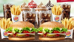 Find Take Aways || Burger King - Family Treat Offer