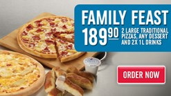 Domino's Pizza - Family Feast Promotion