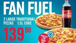 Find Take Aways || Domino's - Fan Fuel Special