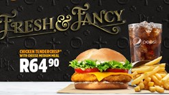 Find Take Aways || Burger King Fresh & Fancy Promotion