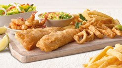 Find Take Aways || Hake & Calamari Promotion