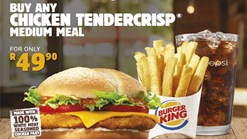 Find Take Aways || Burger King - Helo Monday Special Deal :)