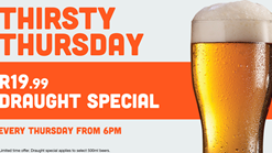 Hooters Thirsty Thursdays