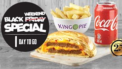 Find Take Aways || King Pie Black Friday (WEEKEND) Special