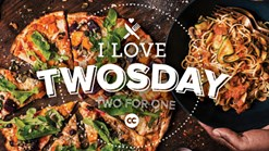 Find Takeaways || Col'Cacchio - I Love TWOSDAY - Two for One Promotion