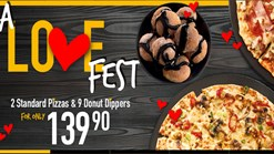 Find Take Aways || Debonairs - Love Fest Promotion