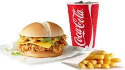 Find Takeaways || KFC - Crunch Burger Combo Deal