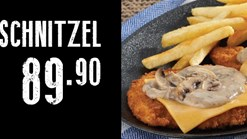 Find Take Aways || Maxi's Maximelt Schnitzel Special