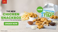 Find Take Aways || McDonald's Chicken Snackbox