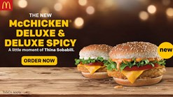 Find Take Aways || McDonalds McChicken Deluxe and Deluxe Spicy