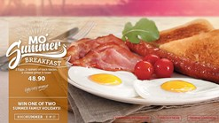 Find Take Aways || Wimpy Mo'Summer Breakfast Special