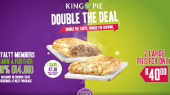 Find Takeaways || King Pie Double Deal
