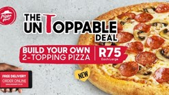 Find Take Aways || Pizza Hut Large 2 Topping Pizza