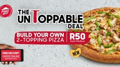 Find Take Aways || Pizza Hut Medium 2 Topping Pizza Deal