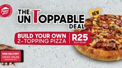 Find Take Aways || Pizza Hut Small 2 Topping Pizza Special