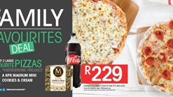 Find Take Aways || Pizza Perfect Family Favourites Deal