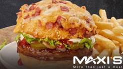 Find Takeaways || Maxi's - Burger meets Pizza Promotion