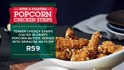 Find Takeaways || KEG - Popcorn Chicken Strips