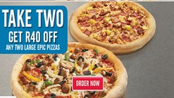 Find Take Aways || Dominos R40 off Deal