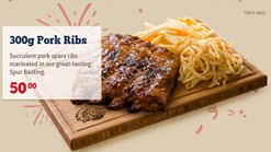 Find Take Aways || Spur 50th Birthday Pork Ribs Special
