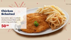 Find Take Aways || Spur 50th Birthday Chicken Schnitzel Special