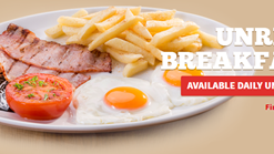 Find Take Aways | Spur - Unreal Breakfast Deal