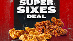 Find Take Aways || KFC The Super Sixes Deal