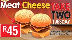Find Take Aways || Burger Perfect - Meat the Cheese Promotion