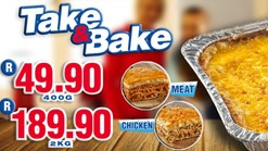 Roman's Take & Bake Promotion