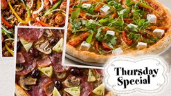 Find Take Aways | Panarottis Thursday Specials