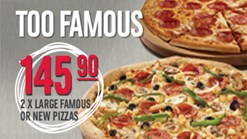 Domino's Too Famous Special