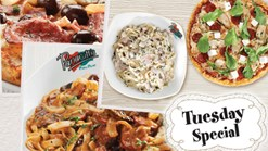 Find Take Aways || Panarottis Tuesday Specials - Buy One Get One Free!