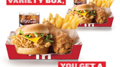 Find Take Aways || KFC 2 Variety Boxes Promotion