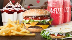 Find Take Aways || McDonald's - Valentine's Combo Deal